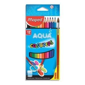 maped-boite-de-12-crayons-de-couleur-aquarellables-color-peps-1-pinceau-offert