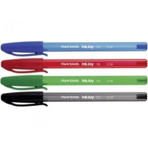 stylo-a-bille-inkjoy-100-papermate-4-couleurs-assorties