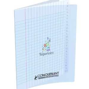 CAHIER CONQUERANT CLASSIQUE AGRAFE 17X22  48P 90G SEY INCOLORE POLYPRO