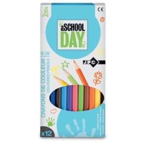 Rentrée-facile.com propose Crayons de couleurs 1er Prix x12 JPC